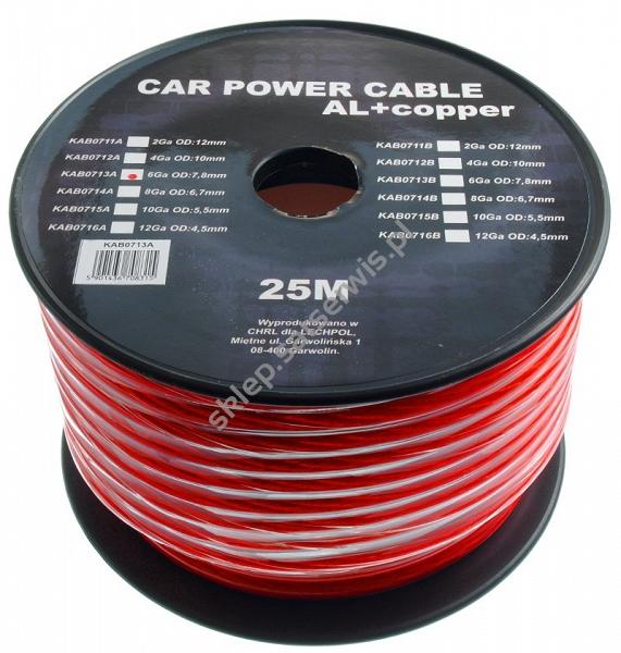 kabel sam.6GA/OD8-25/red - Sklep internetowy